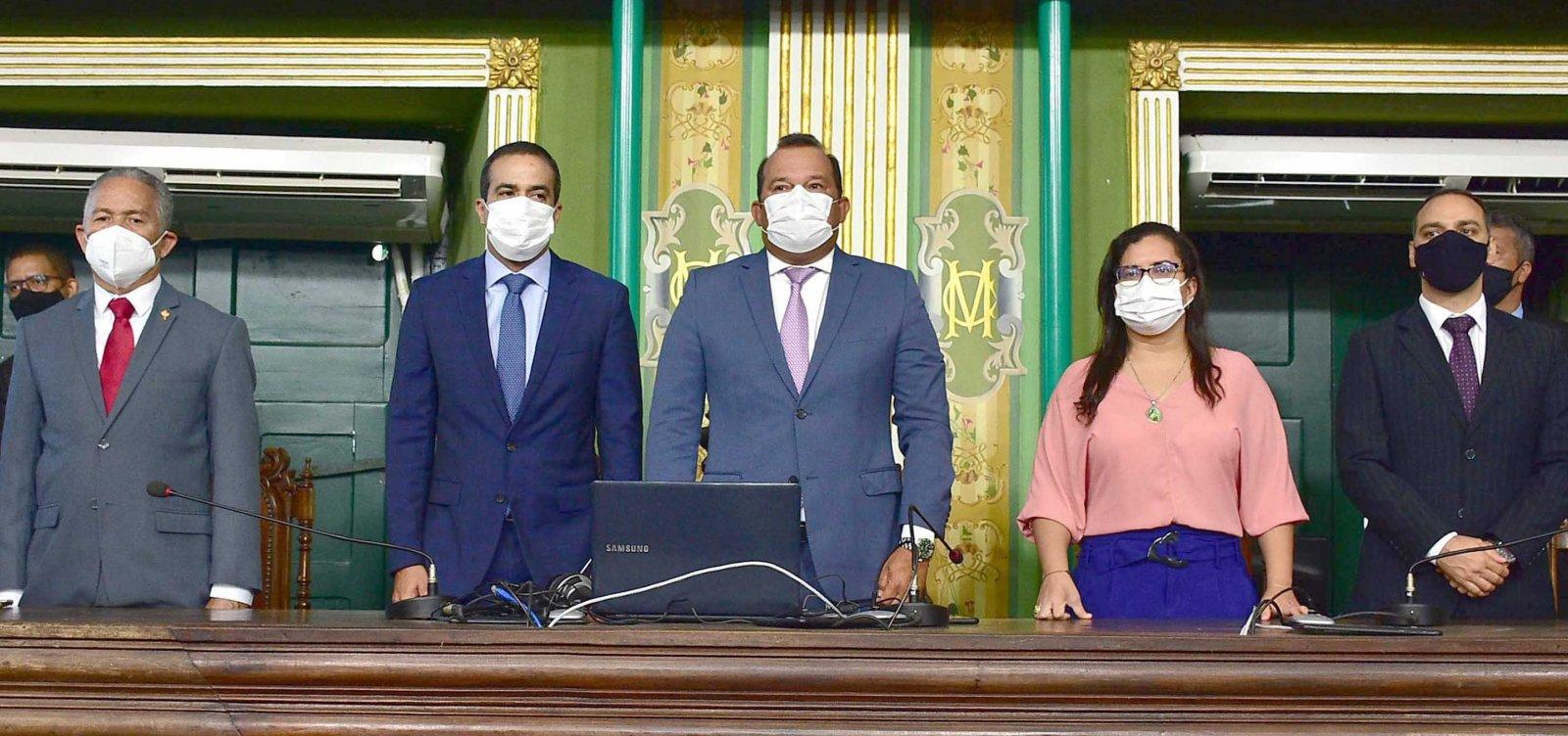 [19ª legislatura da Câmara de Vereadores de Salvador dá início aos trabalhos]