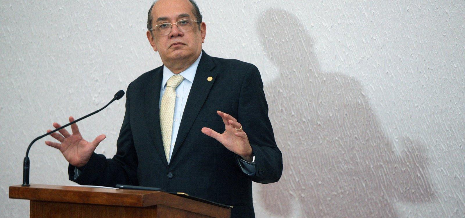 ['Lula é digno de um julgamento justo', diz Gilmar Mendes]