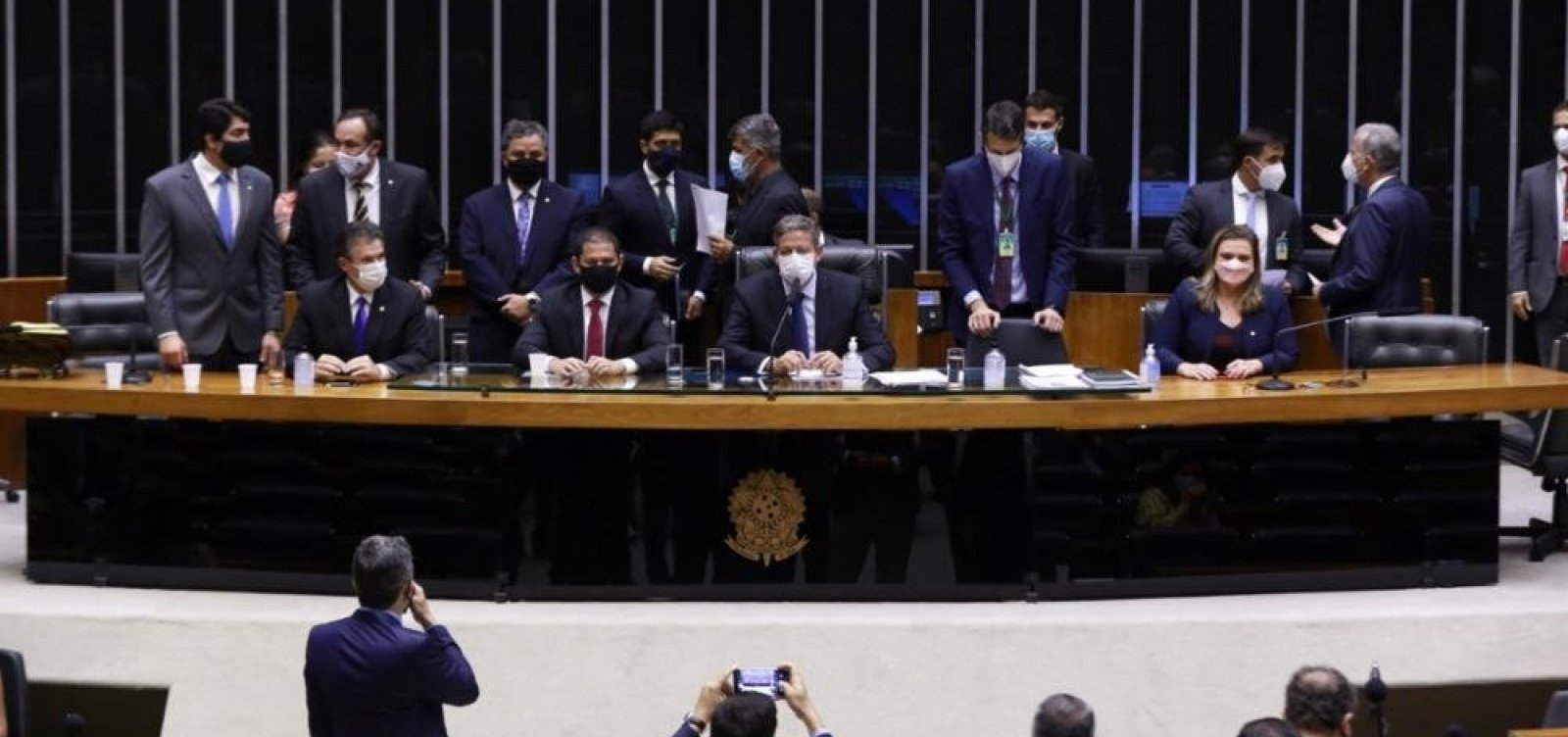 [Câmara dos Deputados elege Mesa Diretora para mandato de dois anos]