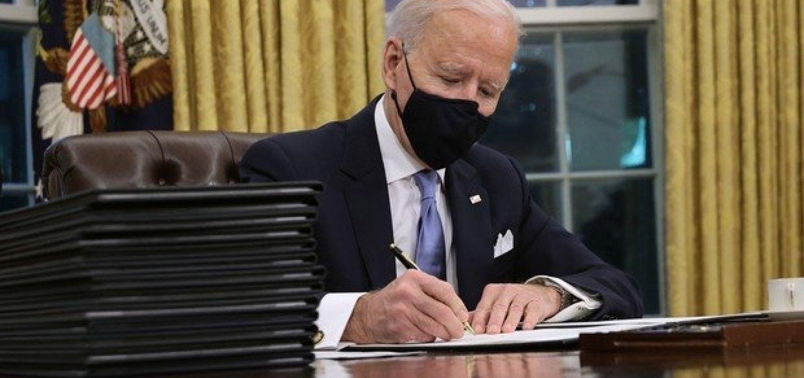 [Biden recebe dossiê que recomenda suspensão de acordos entre EUA e governo Bolsonaro]