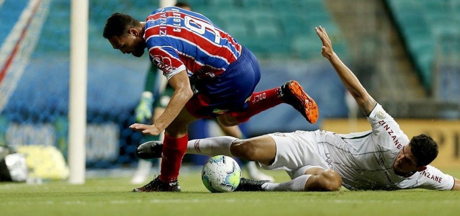 [Bahia perde por 1 a 0 para o Fluminense e volta a ficar ameaçado pelo Z-4]