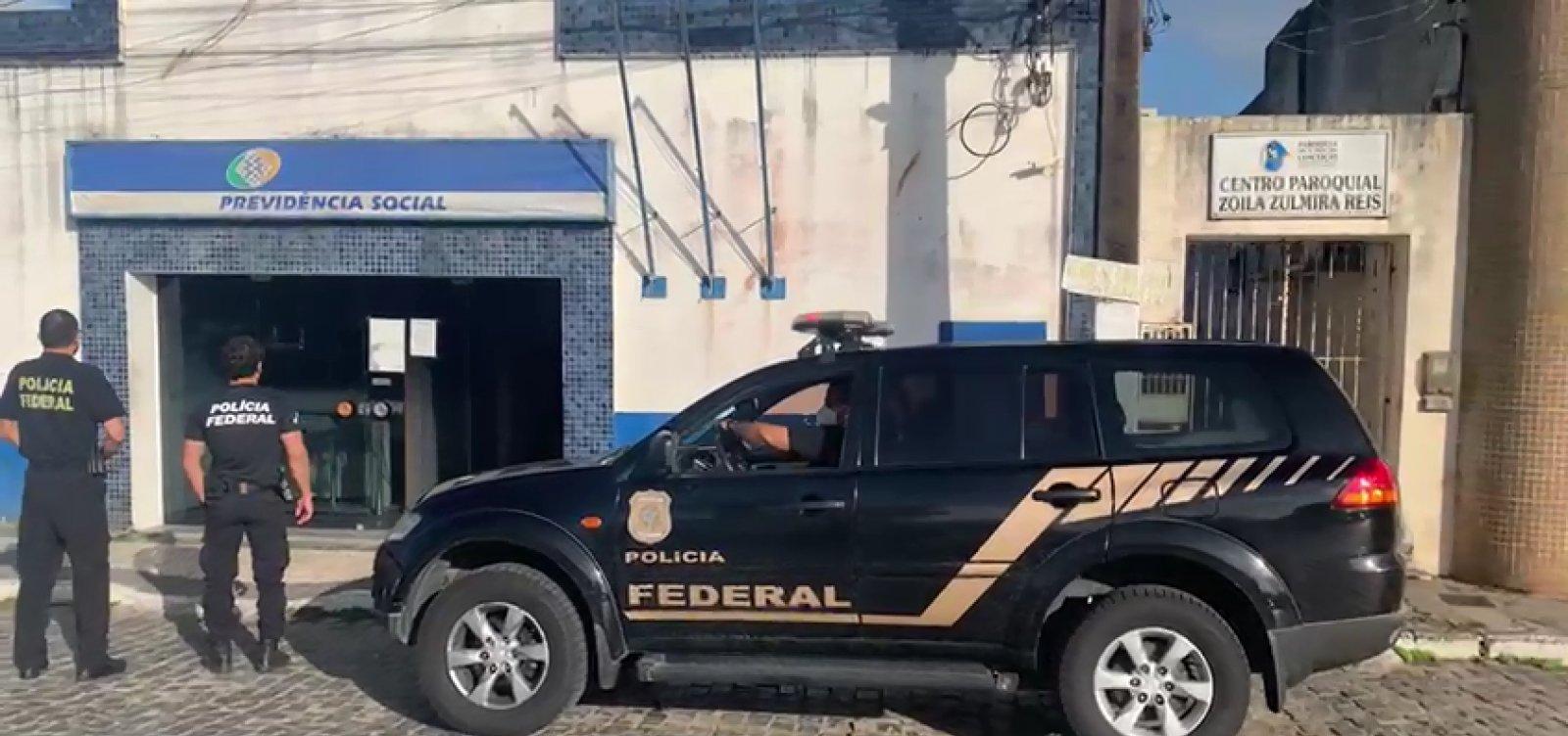 [Sapeaçu: chefe de agência do INSS é preso por fraudar benefícios]