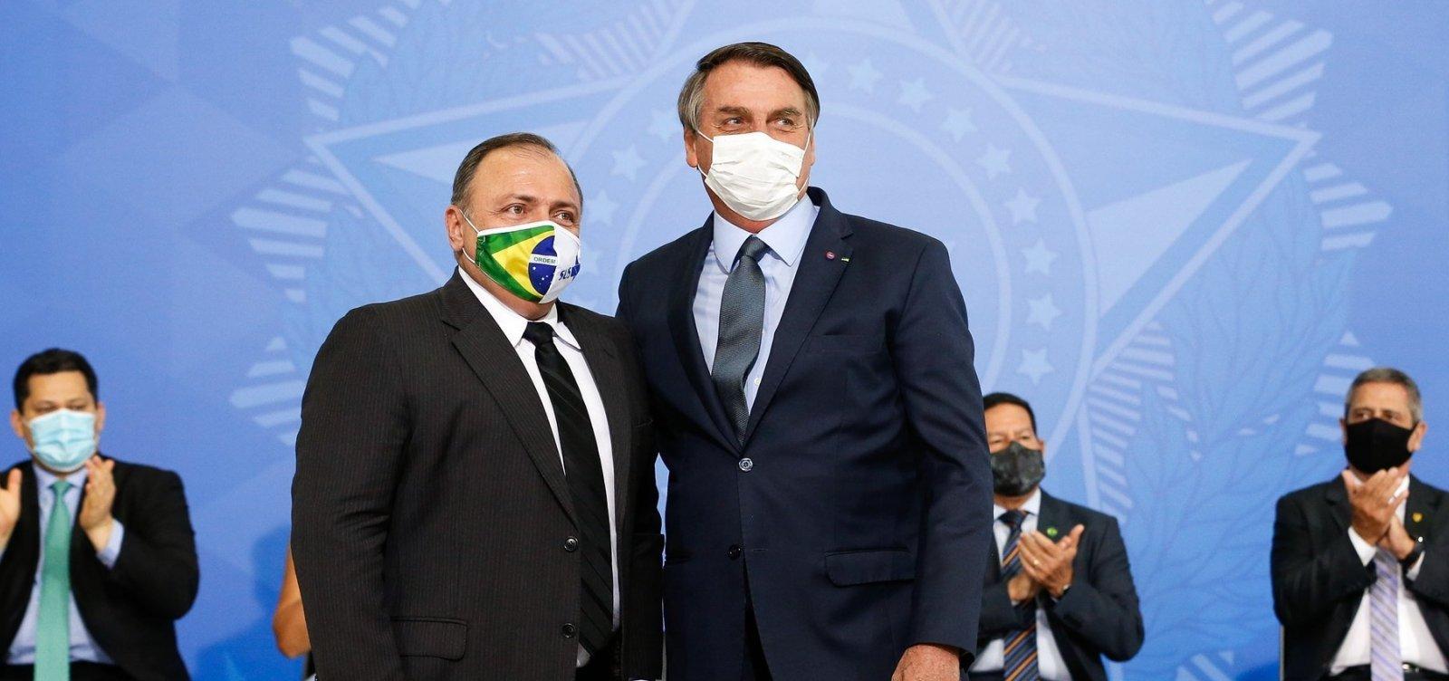[PGR inicia investigação sobre conduta de Bolsonaro e Pazuello em crise na saúde no AM e PA]