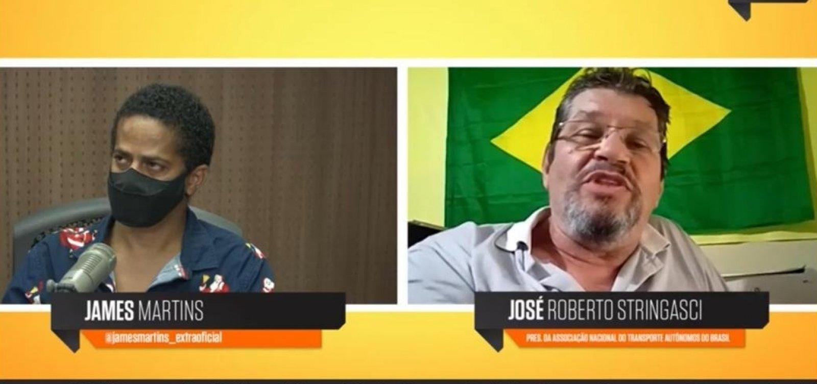 ['Difícil ele ter apoio da categoria', diz representante dos caminhoneiros sobre Bolsonaro em 2022]
