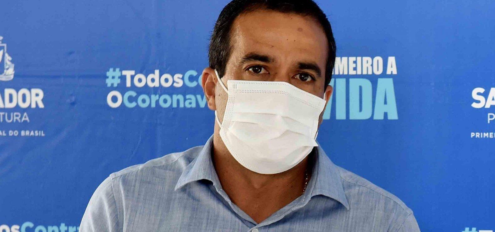 [Covid-19: Bruno Reis reclama de fura filas na vacinação: 'Desgaste']