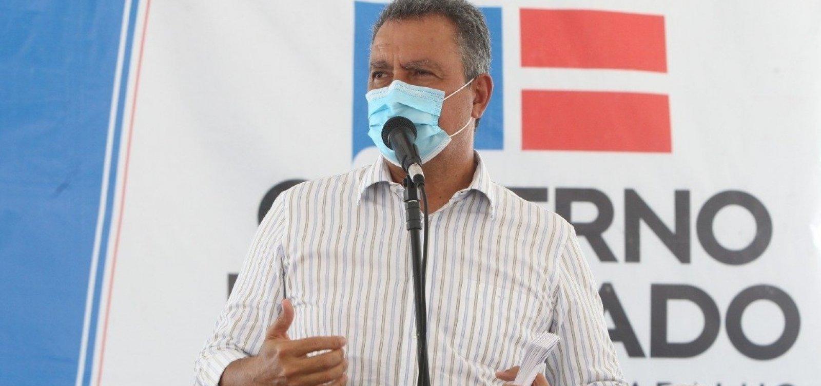 ['Se o governo federal não comprar, o Estado da Bahia vai comprar a vacina', afirma governador Rui Costa]