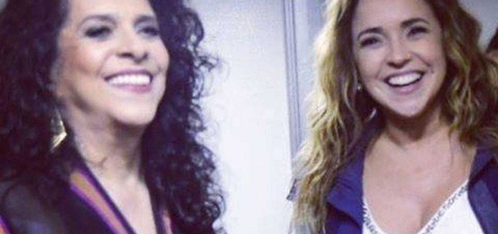 [Em homenagem a Moraes Moreira, Daniela Mercury lança nova música com Gal Costa]