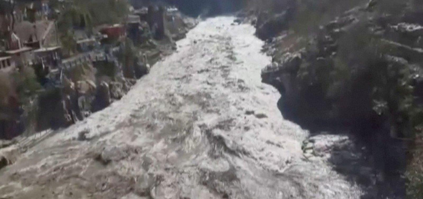 [Rompimento de geleira no Himalaia pode ter causado 150 mortes, diz secretário-chefe]