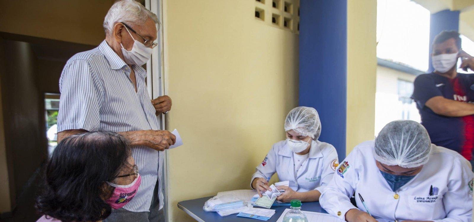 [Bahia pode começar a vacinar idosos acima de 80 anos nesta segunda-feira]