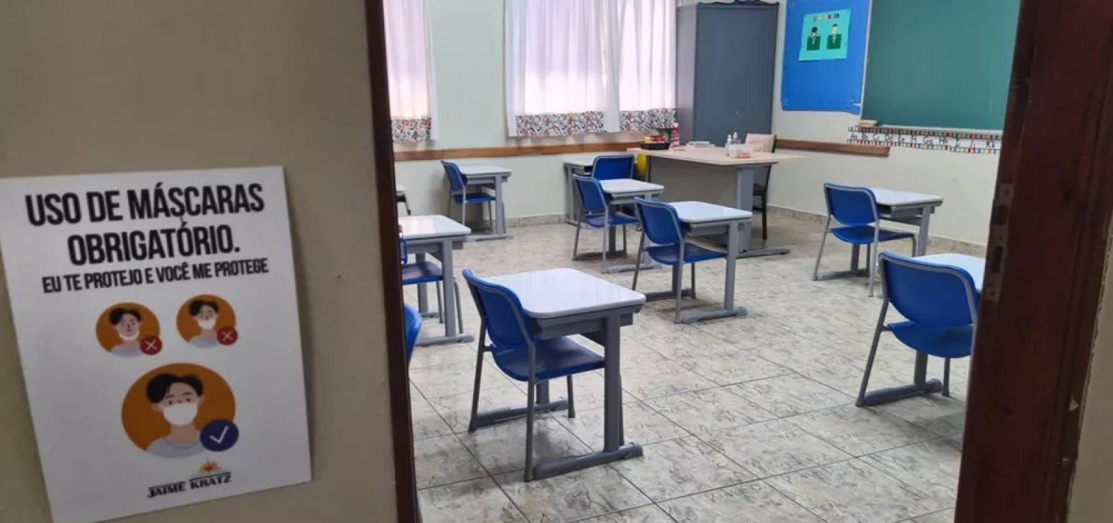 [Escolas estaduais em São Paulo voltam às aulas presenciais nesta segunda]