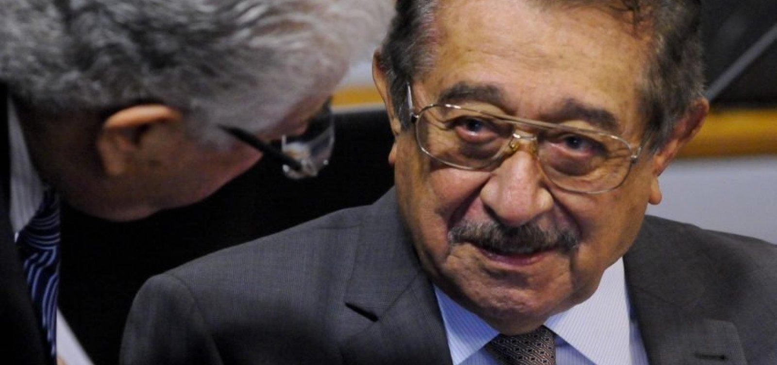 [Morre pela Covid-19 senador mais velho do Congresso, José Maranhão]