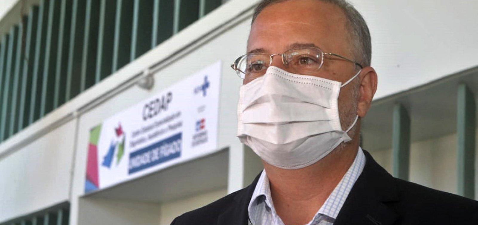 [Secretário de Saúde da Bahia alerta para alta ocupação de leitos de UTI para Covid-19 no estado]