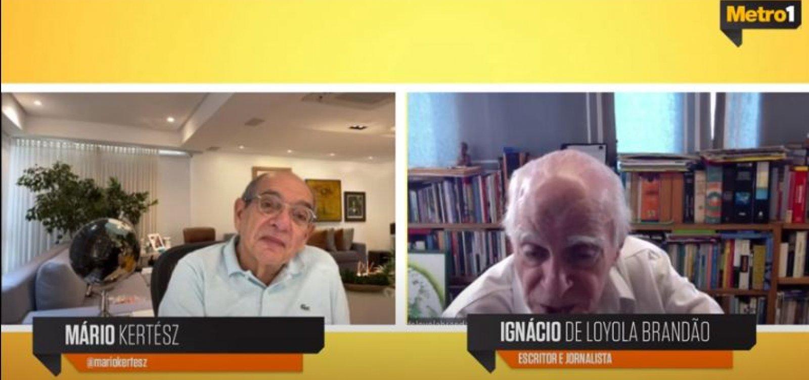 [Ignácio de Loyola Brandão critica governo Bolsonaro por 'abandono total da população']