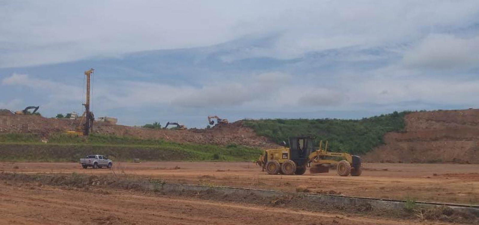 [Construção da Nova Rodoviária de Salvador é iniciada no bairro de Águas Claras]