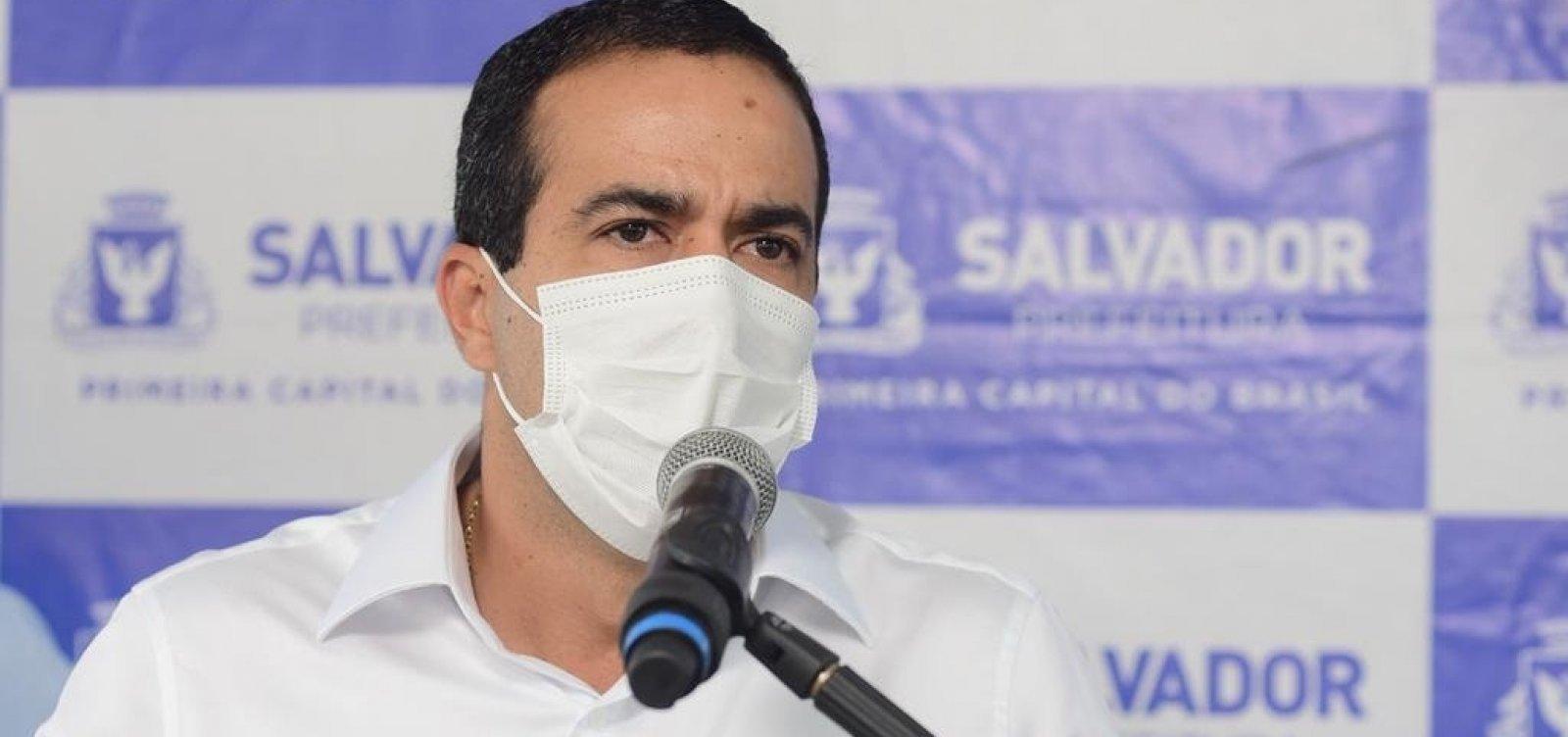 [Prefeito de Salvador vai a Brasília após governo federal reduzir financiamento de leitos Covid]