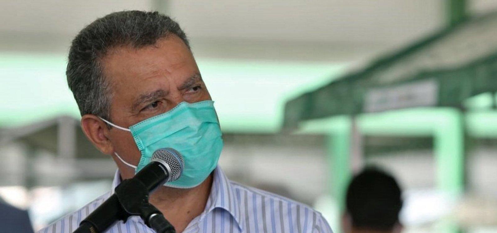 [Bahia corre risco de ter colapso no sistema de saúde, afirma Rui Costa ]