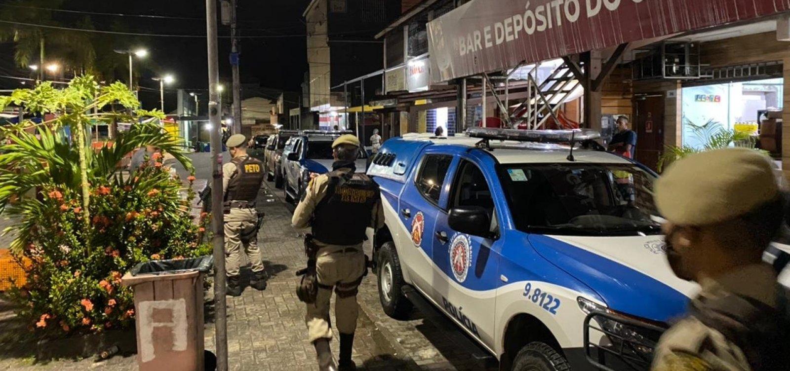 [Polícia Militar encerra aglomerações na Região Metropolitana de Salvador na madrugada de sábado]