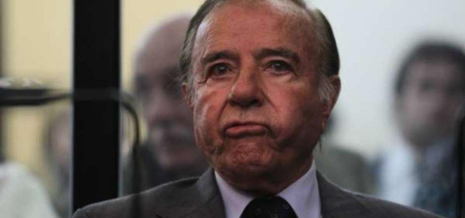 [Ex-presidente da Argentina Carlos Menem morre aos 90 anos]