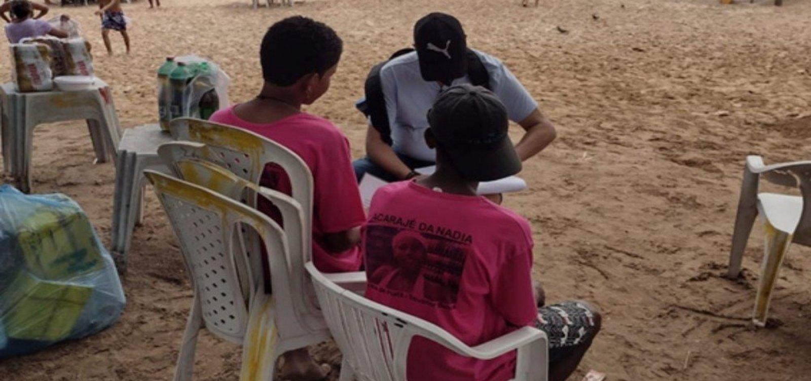 [Estabelecimentos são notificados por explorar mão de obra infantil em praias de Salvador e região metropolitana]