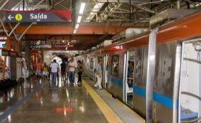 [Metrô de Salvador tem parada inesperada de trem]