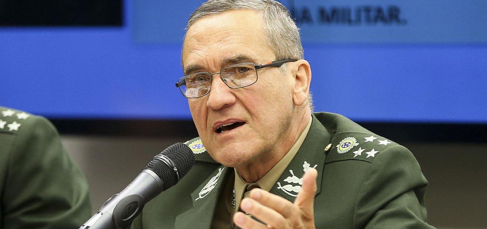 [Villas Bôas ironiza crítica de Fachin sobre pressão militar ao STF: 'Três anos depois' ]