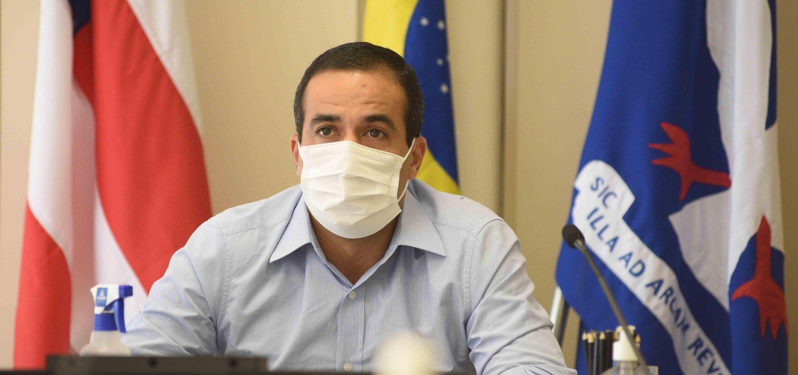 [Salvador vive pior momento da pandemia, diz Bruno Reis; vacinas devem chegar dia 23]