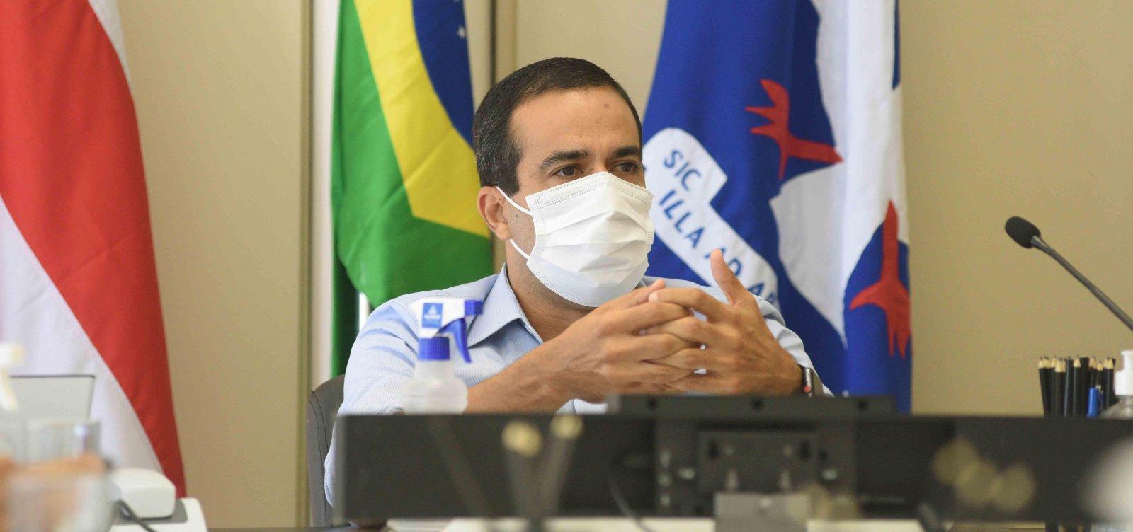 [Aumento de casos é 'sinal claro' de circulação de nova cepa do coronavírus, diz Bruno Reis]