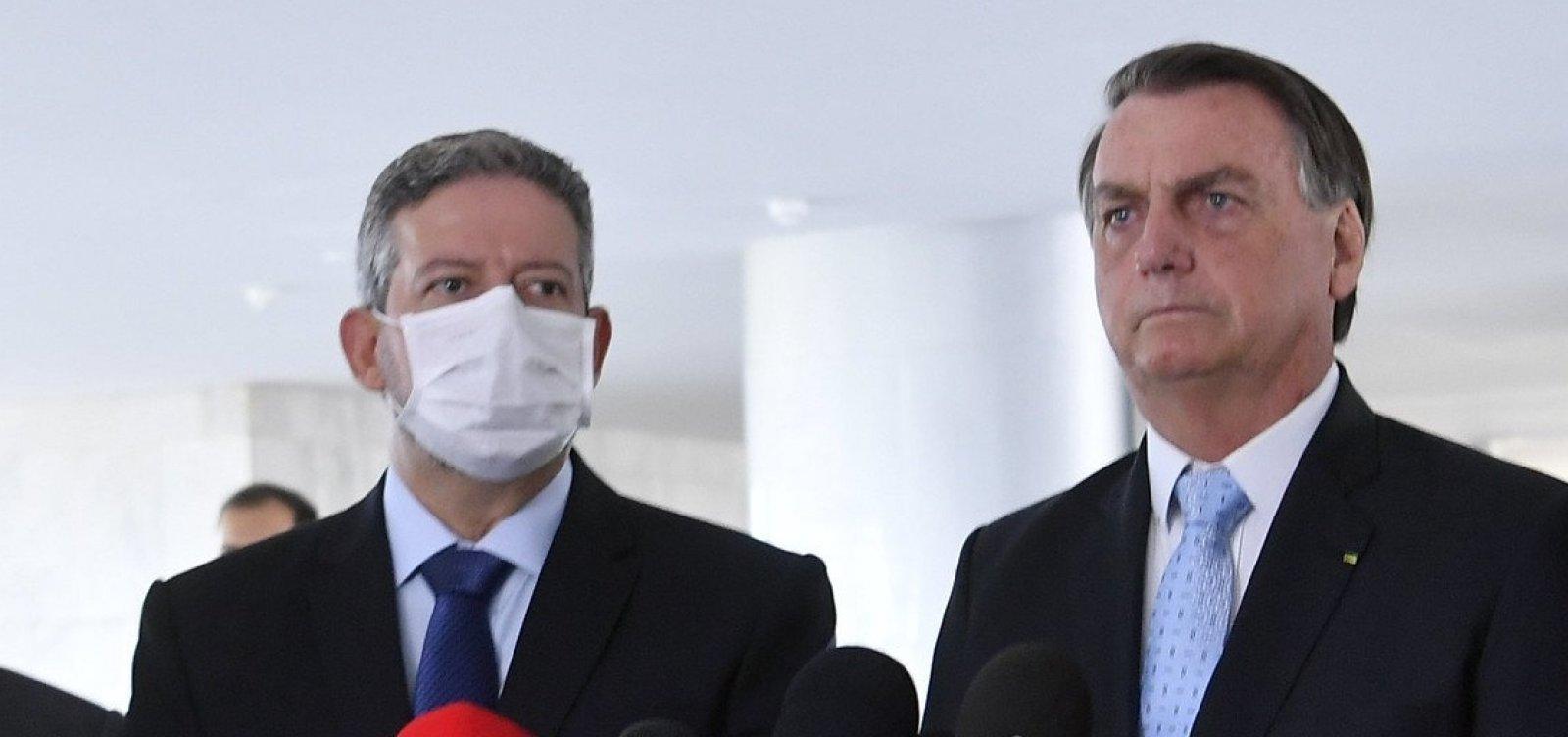 [Presidente da Câmara se encontra com Bolsonaro para discutir prisão de Daniel Silveira]