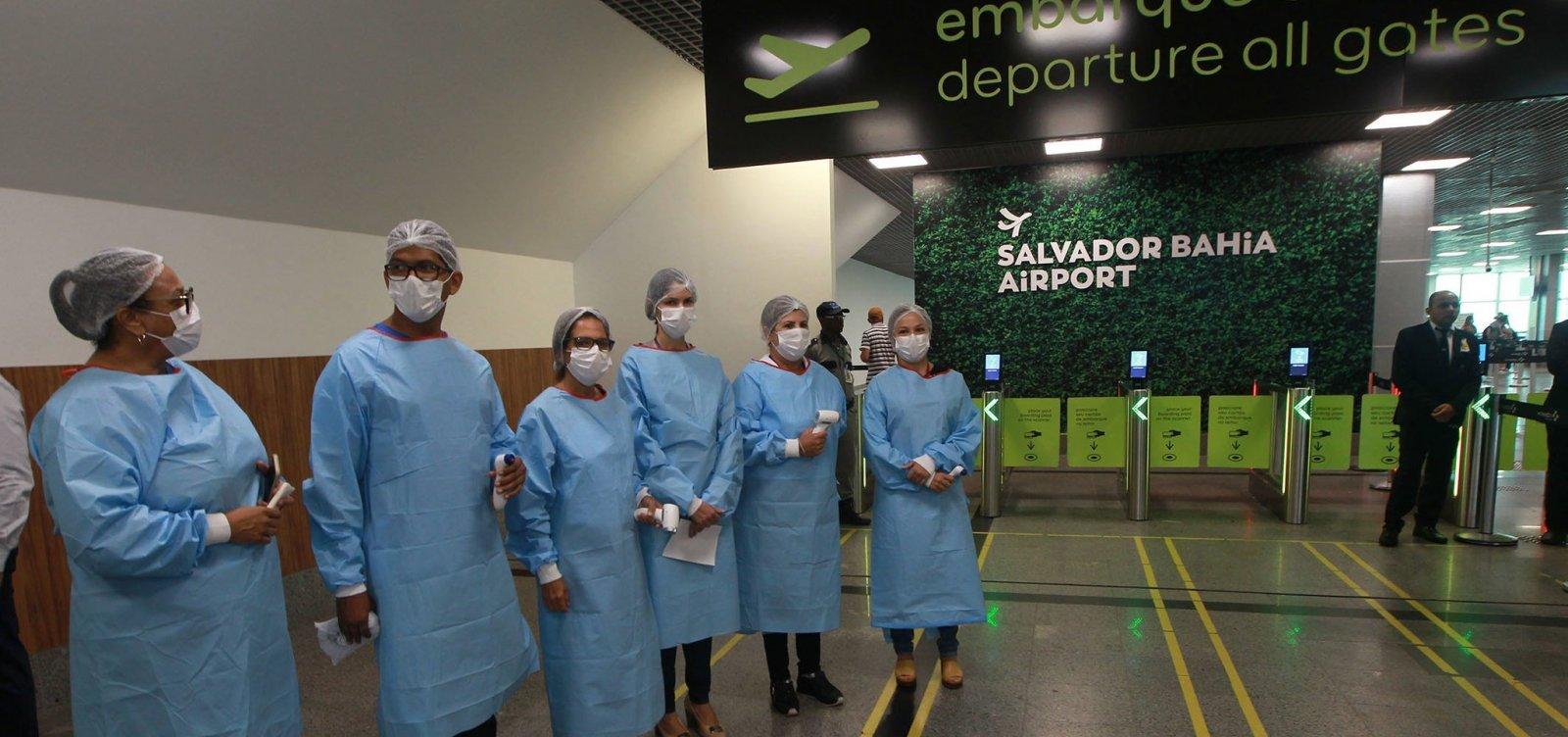 [Toque de recolher não irá interferir em viagens agendadas no Aeroporto de Salvador]
