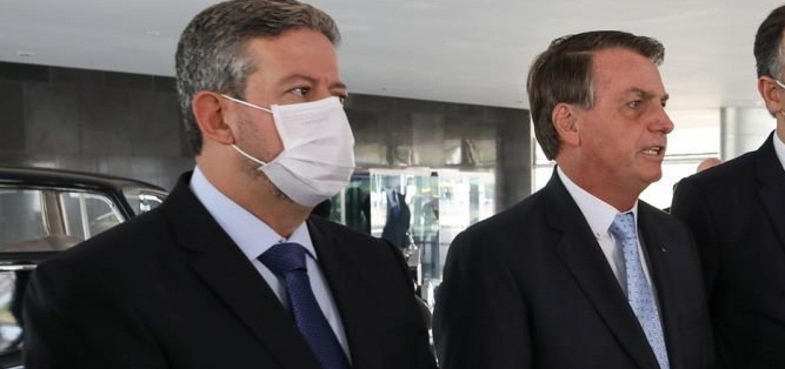 [Lira diz a Bolsonaro que Câmara deve confirmar prisão de deputado]