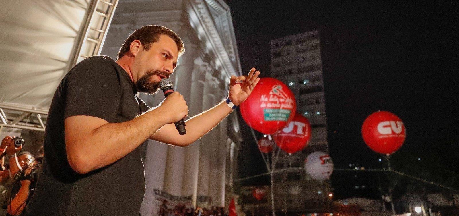[Revista Time elege Guilherme Boulos e Anitta entre os 100 líderes do futuro]