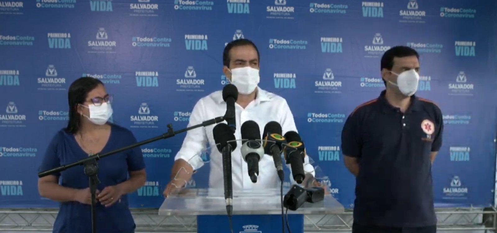 [Covid-19: prefeito diz não ver necessidade de reabrir hospital de campanha do Wet N' Wild]