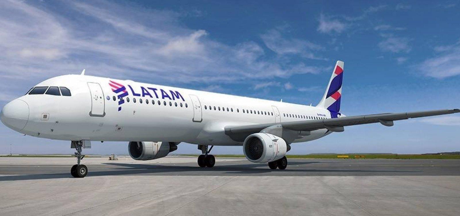 [Latam suspende voos para Tel Aviv, Barcelona, Milão e Joanesburgo até novembro]