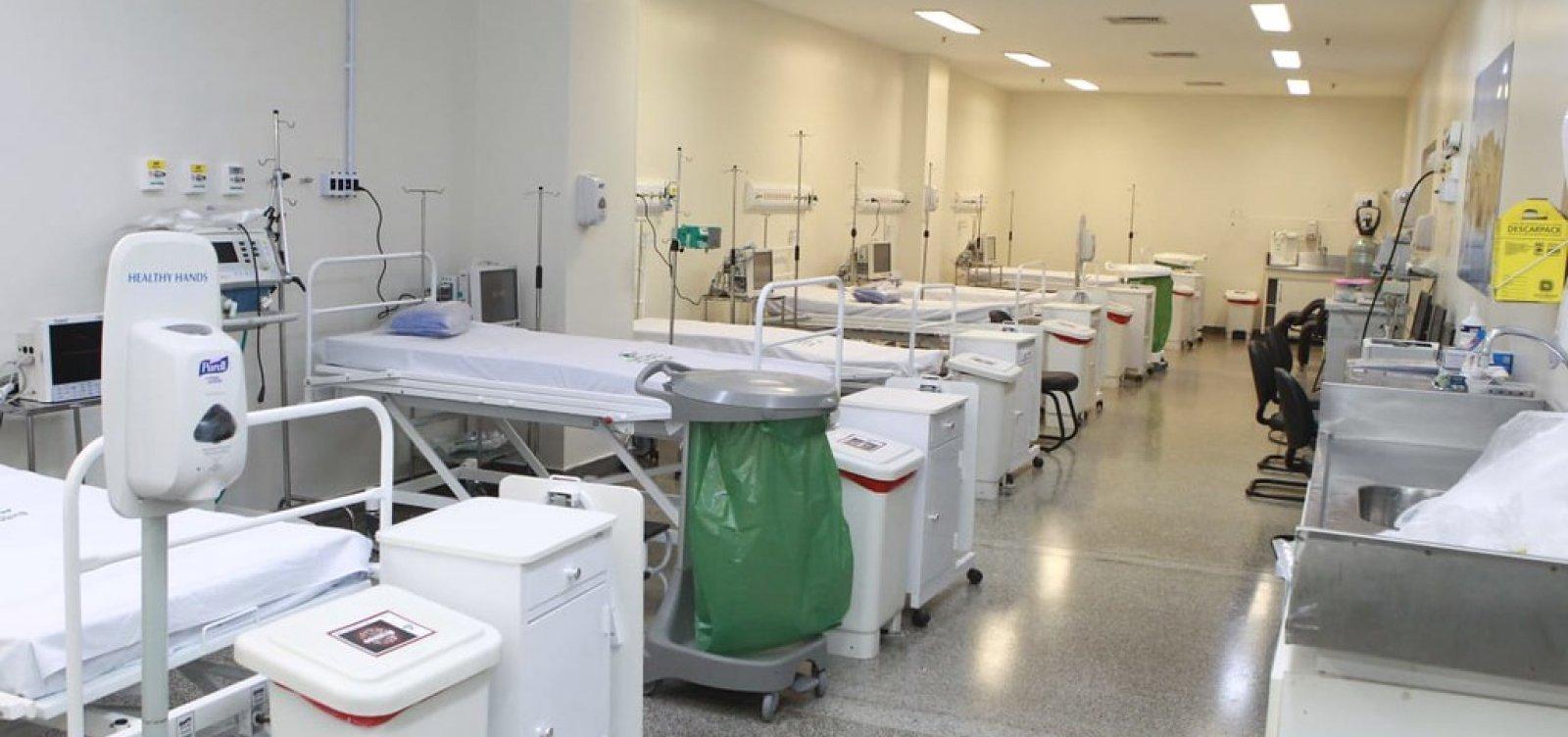 [Bahia atinge maior número de pacientes internados em UTIs por Covid-19 desde o início da pandemia]