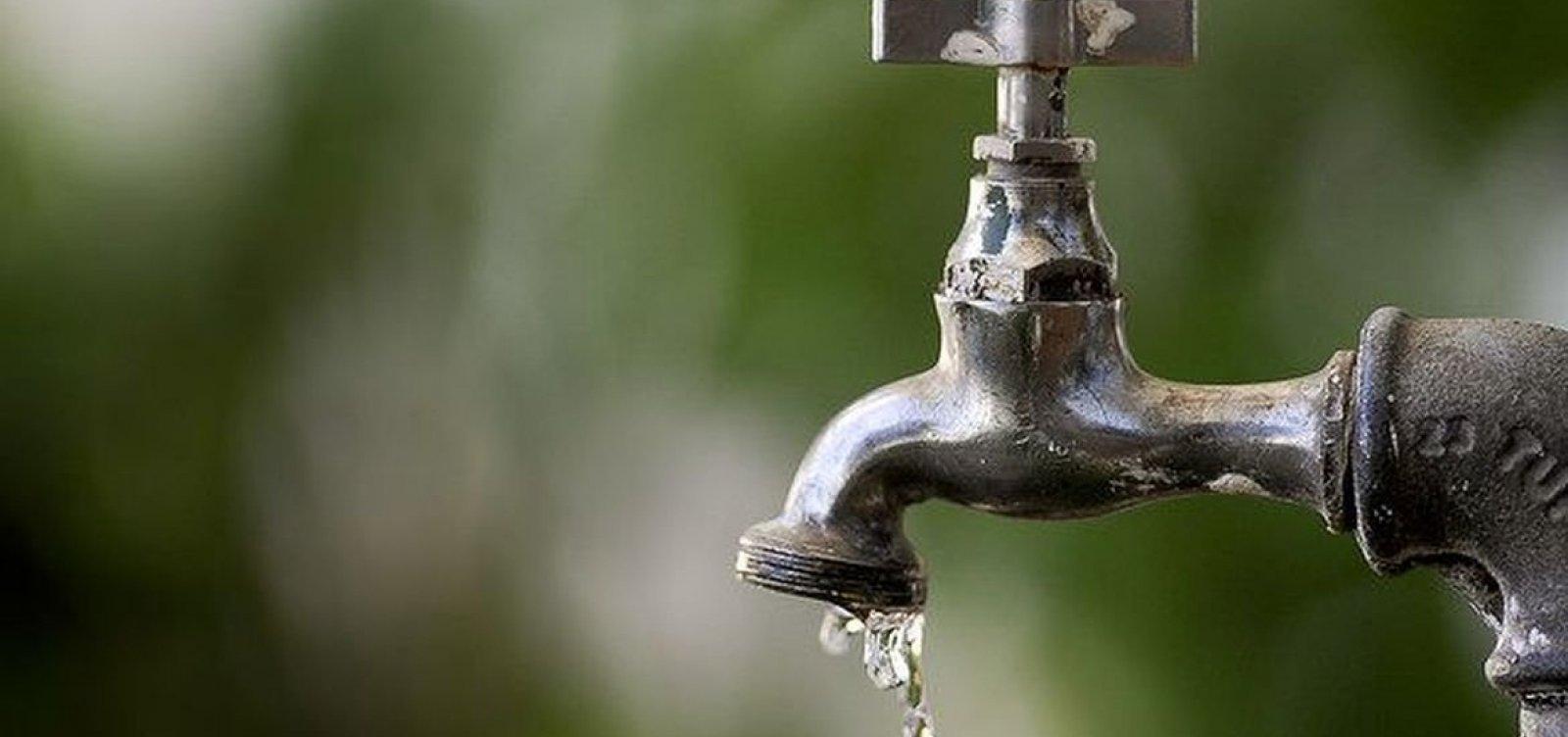 [Abastecimento de água será interrompido em várias regiões de Camaçari na próxima terça-feira (23)]