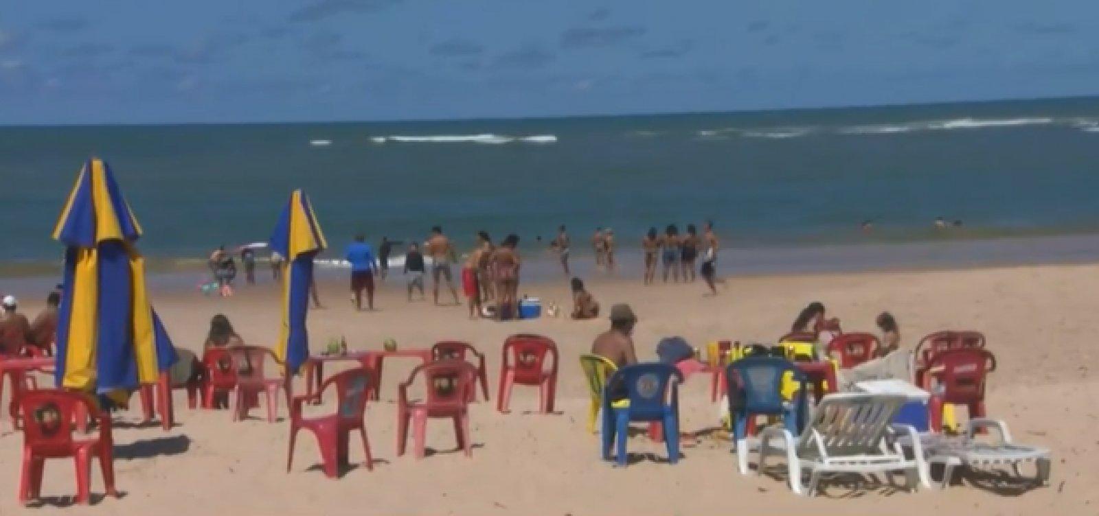 [Interdição das praias de Camaçari começa amanhã (21) e segue até 5 de março]