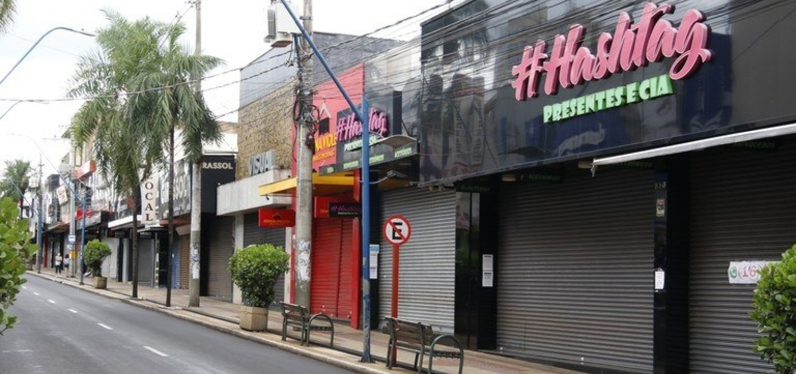 [Com UTIs lotadas, cidade paulista inicia confinamento total de 60 horas]