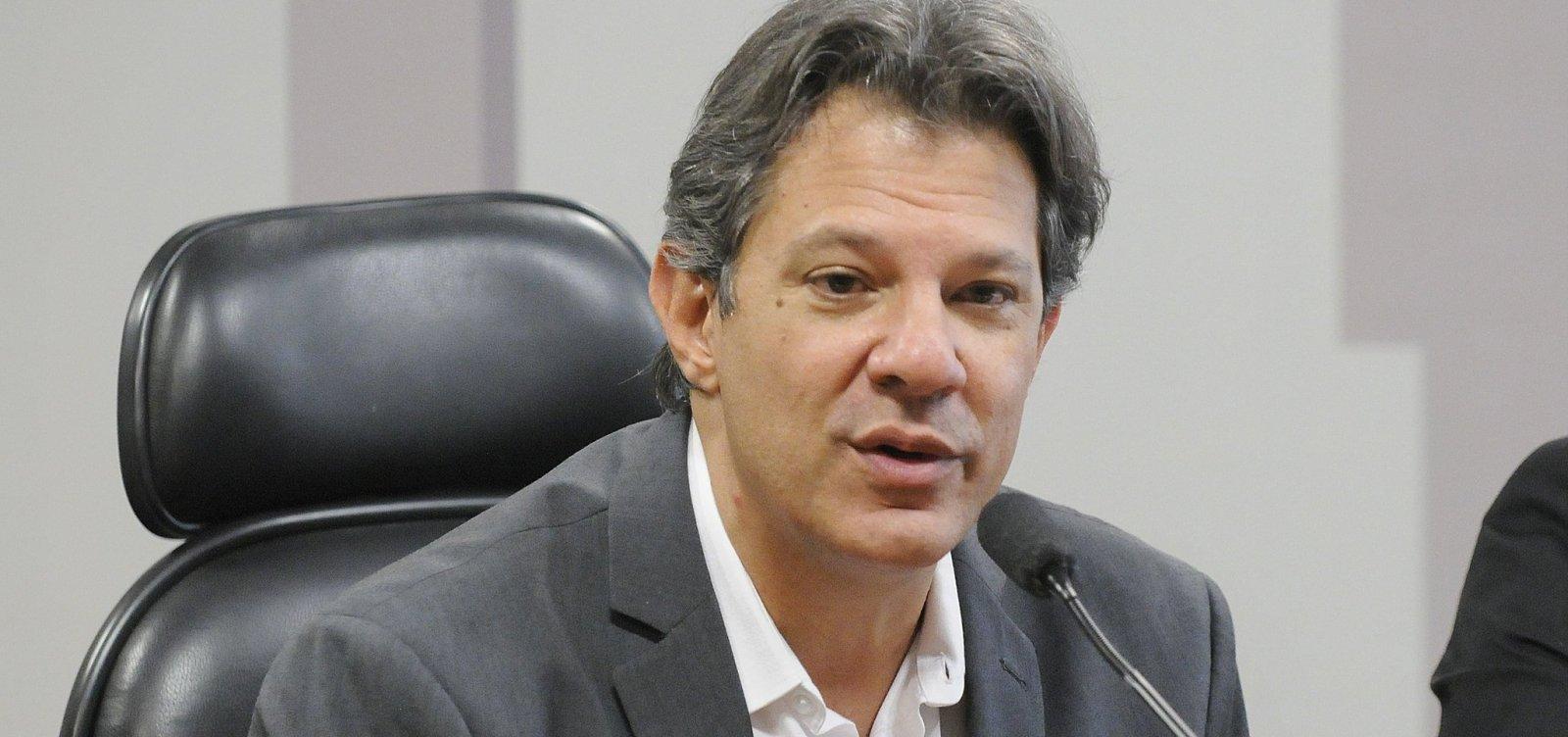 [Haddad cita aliança contra Bolsonaro e avisa: 'Temos que preparar o segundo turno antes do primeiro']