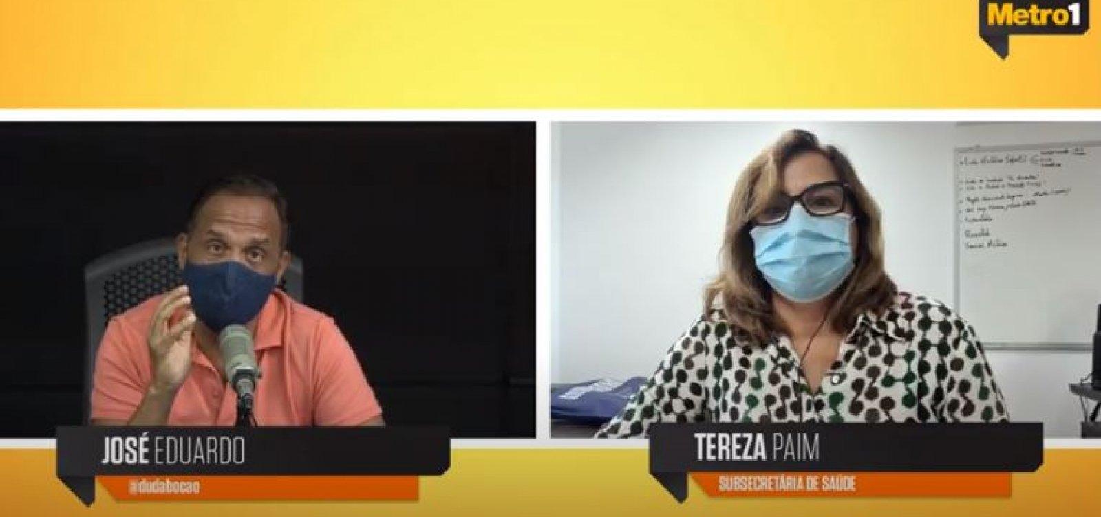 [Novas vacinas têm até o início de março para chegar à Bahia, diz subsecretária de Saúde]