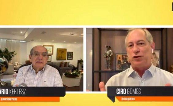[Ciro rebate Haddad: 'Única coisa que pode ressuscitar o Bolsonaro é o lulopetismo']