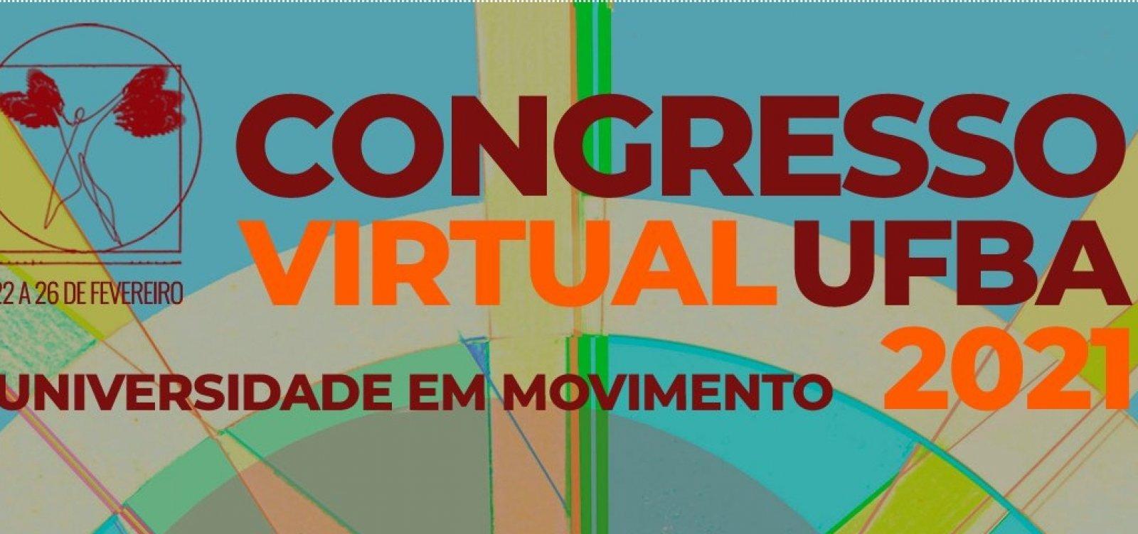 [Congresso virtual da Ufba traz debates sobre cultura, política e meio ambiente]