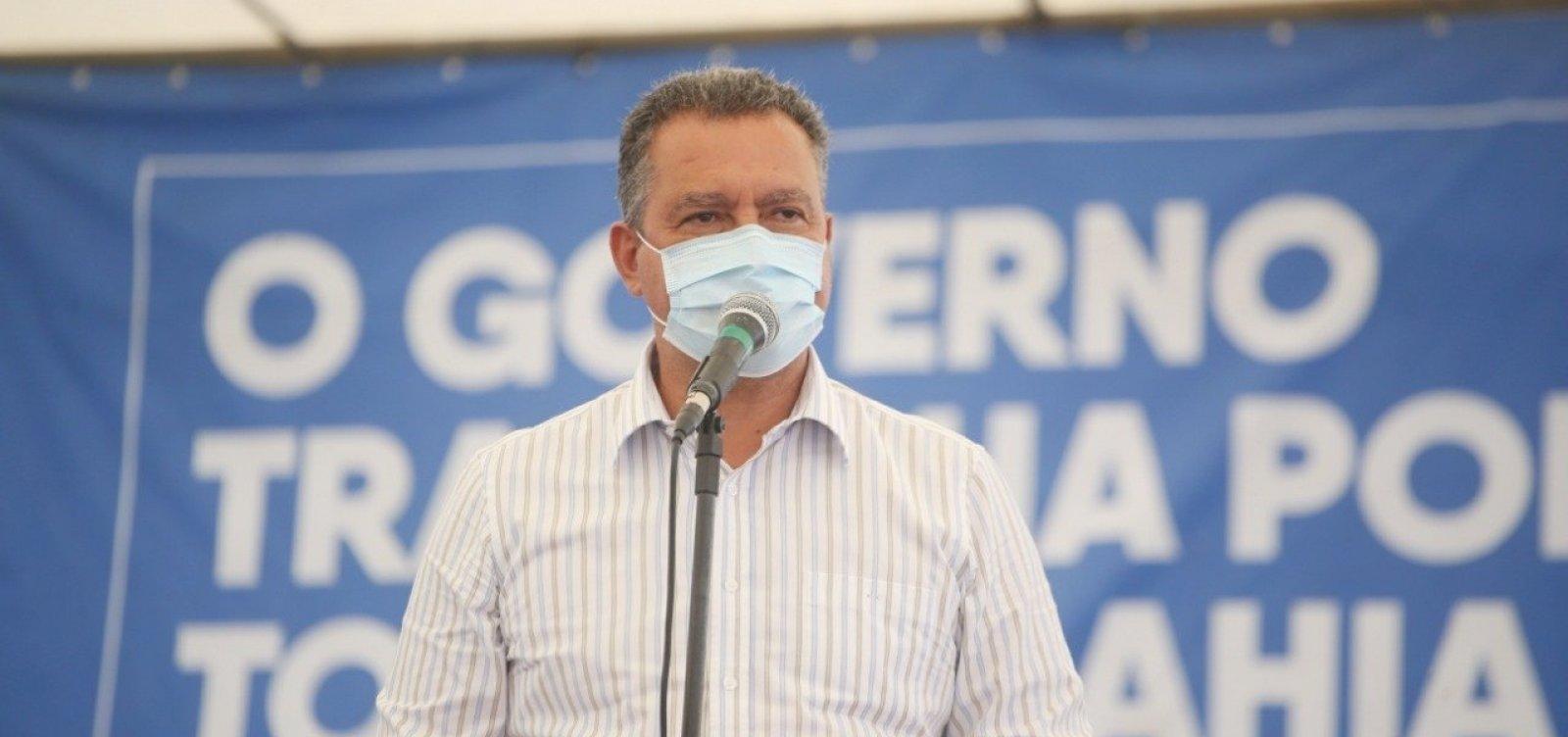 [Governador reforça que quem não usar máscara pode ser conduzido à delegacia]