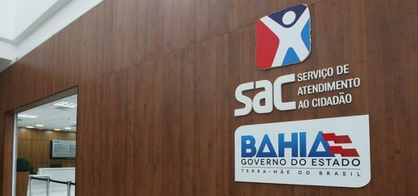 [Após restrições na Bahia, postos do SAC suspendem atendimento neste sábado ]