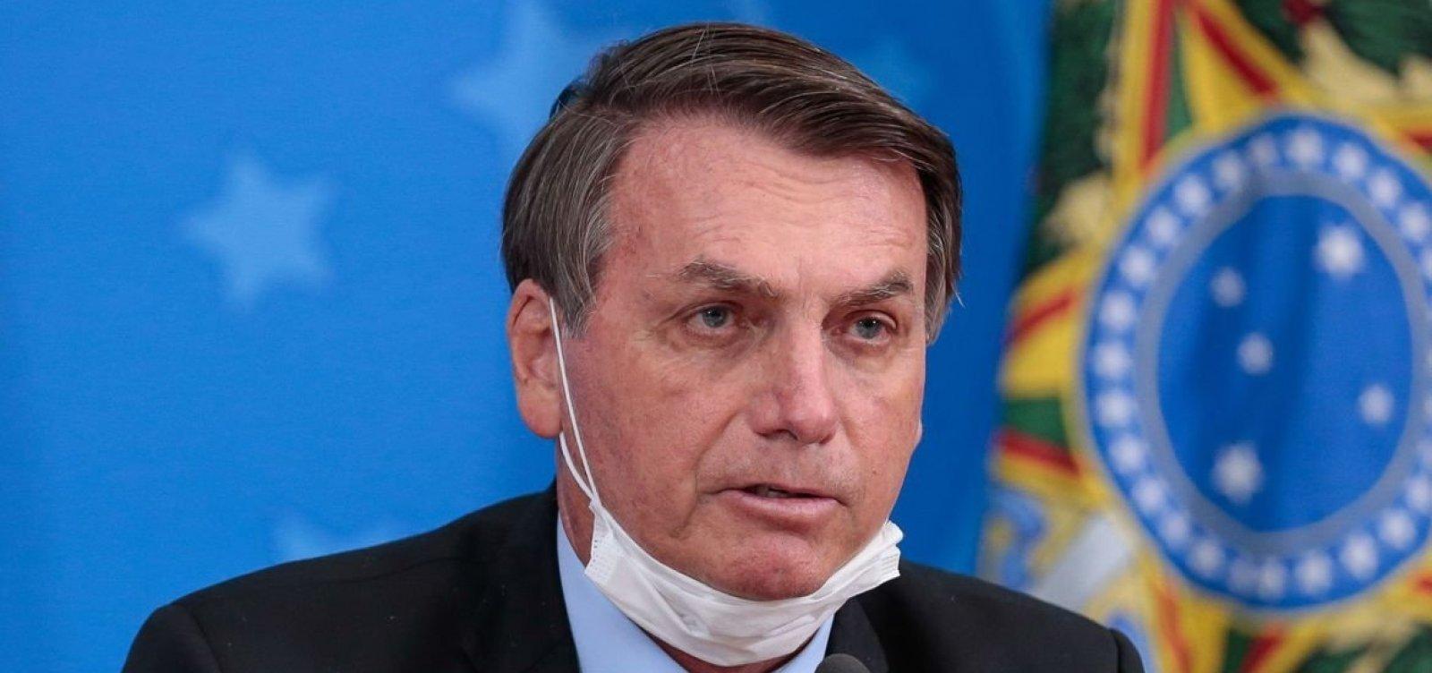 [Bolsonaro usa enquete on-line para criticar uso de máscaras; cientistas questionam a pesquisa]