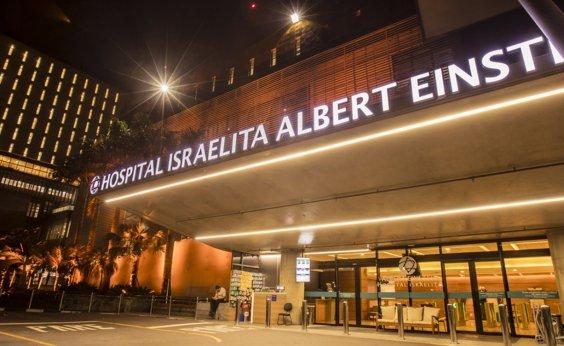 [Hospital Albert Einstein, em SP, tem lotação de 104% e registra fila de espera]