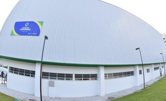 [Prefeitura inicia montagem de hospital de campanha em Itapuã ]