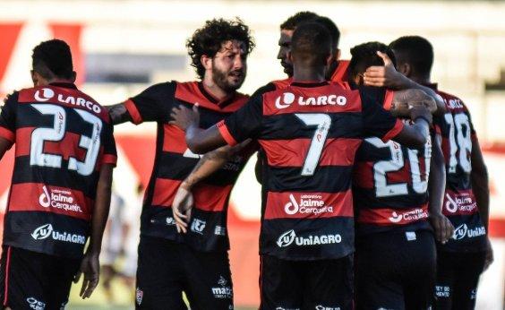 [Vitória bate o Santa Cruz por 2 a 0 na estreia do Nordestão 2021]