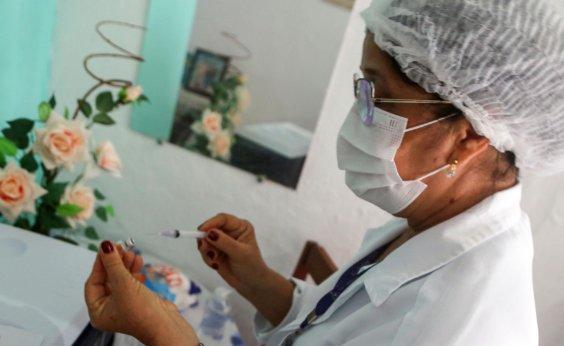 [Mais de 433 mil baianos já foram vacinados contra a Covid-19]
