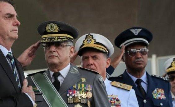 [Presença de militares em cargos estratégicos dobra no governo Bolsonaro]