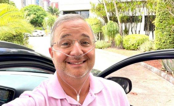 [Internado com Covid-19 há mais de uma semana, secretário Fábio Vilas-Boas recebe alta do hospital]
